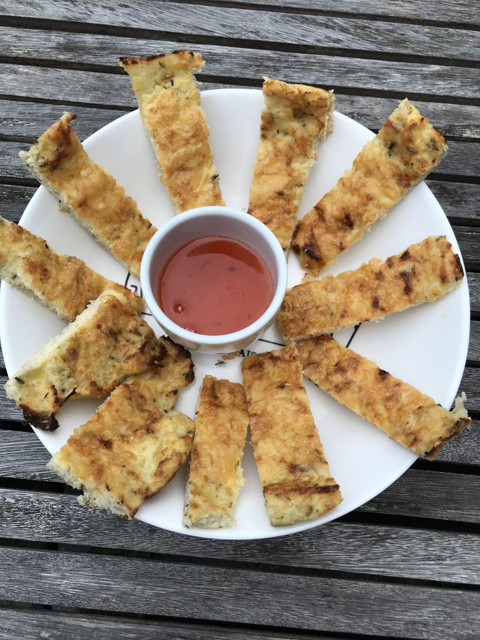Bloemkool breadsticks